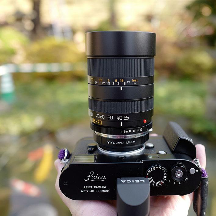 Leica M-P type 240 + LEICA ライカ VARIO-ELMAR-R バリオエルマー 35-70mm F4