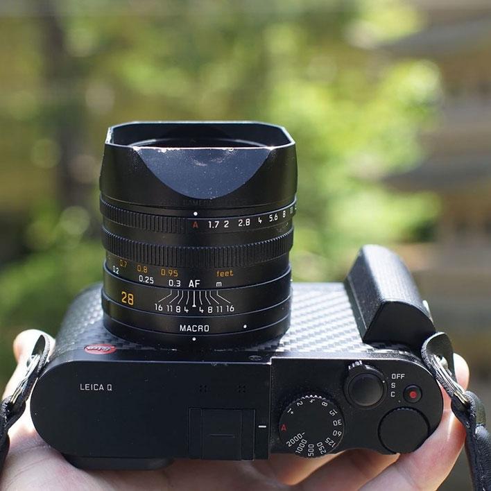 LeicaQ 浮遊写真 零重力