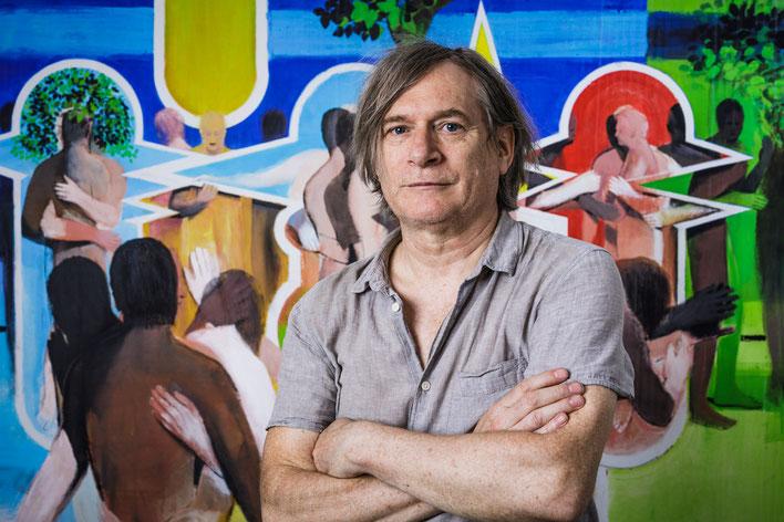Michael Hedwig, studio, Vienna, 2017, Foto by Matt Observe