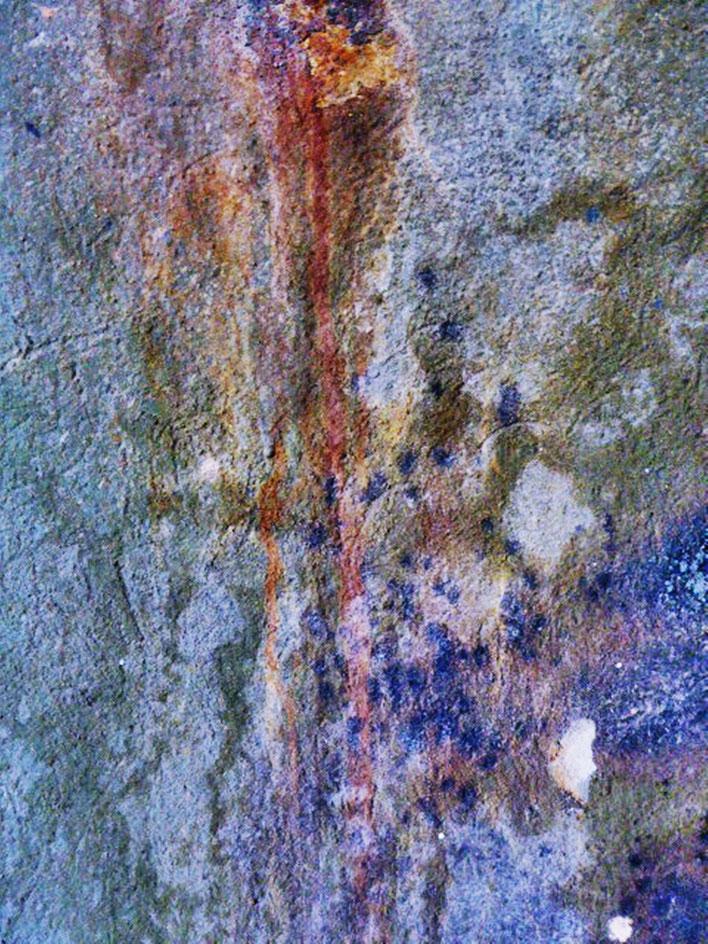 Pedro Meier – Mauerzeichen – Mural paintings Nr. 26 – Fabrikruine – Wasteland Factory ArtCampus Attisholz Solothurn– 2016 © Pedro Meier Multimedia Artist/ProLitteris Zürich – Visarte Bangkok Art-Group. Gerhard Meier-Weg Niederbipp Bern Oberaargau Graffiti