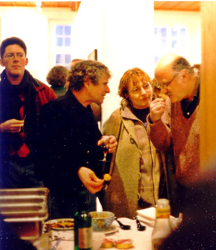 Pedro Meier – Peter Killer Konservator Kunstmuseum Olten (Vernissageansprache)– Solo-Ausstellung Pedro Meier »Zwischenwelten« 1997 Kunsthaus Zofingen. © Pedro Meier Multimedia Artist/ProLitteris Zürich Visarte. Gerhard Meier-Weg Niederbipp Bern Oberaargau