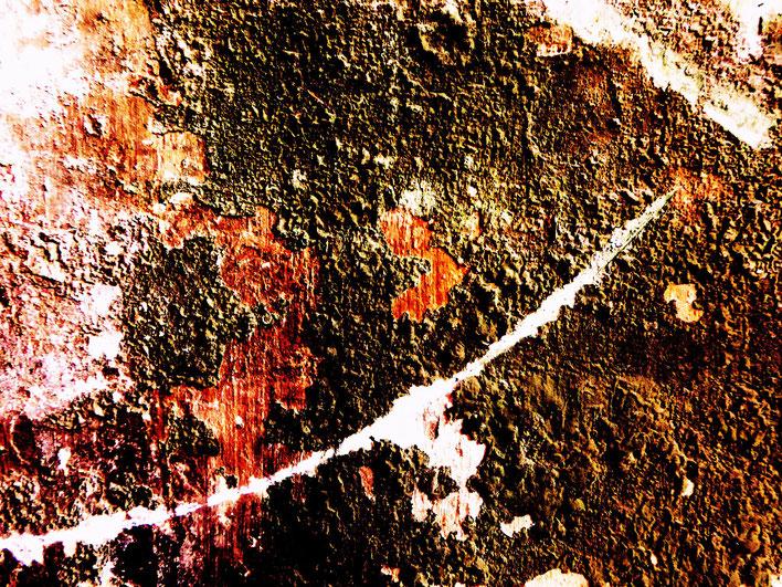 Pedro Meier – Mauerzeichen – Mural paintings Nr. 38 – Fabrikruine – Wasteland Factory ArtCampus Attisholz Solothurn– 2016 © Pedro Meier Multimedia Artist/ProLitteris Zürich – Visarte Bangkok Art-Group. Gerhard Meier-Weg Niederbipp Bern Oberaargau Graffiti
