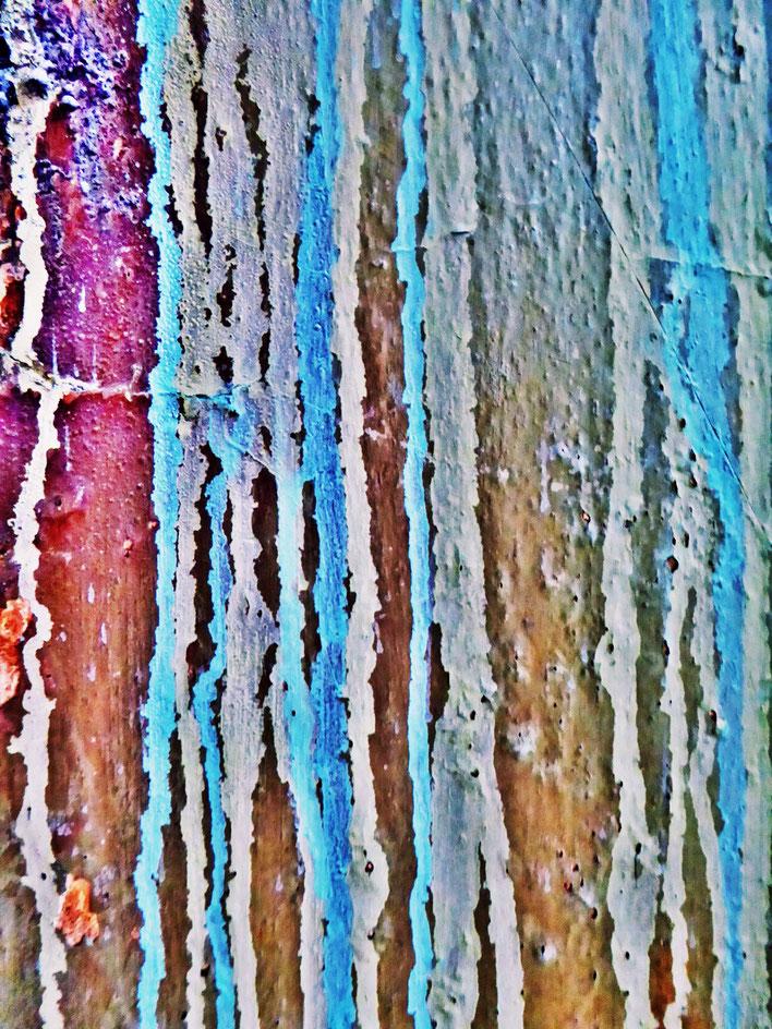 Pedro Meier – Mauerzeichen – Mural paintings Nr. 31 – Fabrikruine – Wasteland Factory ArtCampus Attisholz Solothurn– 2016 © Pedro Meier Multimedia Artist/ProLitteris Zürich – Visarte Bangkok Art-Group. Gerhard Meier-Weg Niederbipp Bern Oberaargau Graffiti