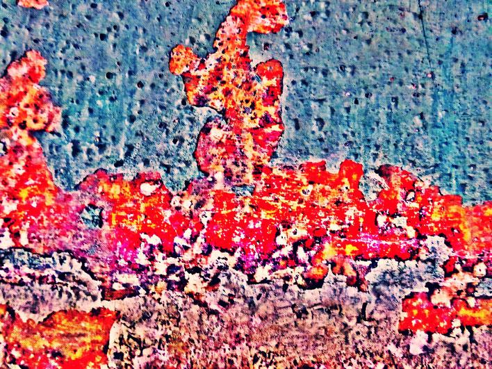 Pedro Meier – Mauerzeichen – Mural paintings Nr. 18 – Fabrikruine – Wasteland Factory ArtCampus Attisholz Solothurn– 2016 © Pedro Meier Multimedia Artist/ProLitteris Zürich – Visarte Bangkok Art-Group. Gerhard Meier-Weg Niederbipp Bern Oberaargau Graffiti