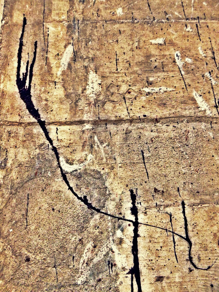Pedro Meier – Mauerzeichen – Mural paintings Nr. 05 – Fabrikruine – Wasteland Factory ArtCampus Attisholz Solothurn– 2016 © Pedro Meier Multimedia Artist/ProLitteris Zürich – Visarte Bangkok Art-Group. Gerhard Meier-Weg Niederbipp Bern Oberaargau Graffiti