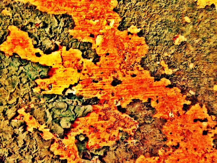 Pedro Meier – Mauerzeichen – Mural paintings Nr. 14 – Fabrikruine – Wasteland Factory ArtCampus Attisholz Solothurn– 2016 © Pedro Meier Multimedia Artist/ProLitteris Zürich – Visarte Bangkok Art-Group. Gerhard Meier-Weg Niederbipp Bern Oberaargau Graffiti