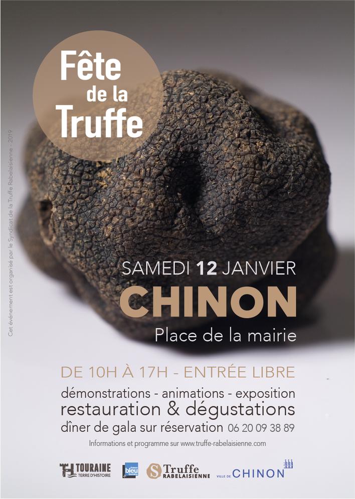 Touraine Terre d'Histoire - Val de Loire - événement - Fête de la Truffe 2019 - Chinon