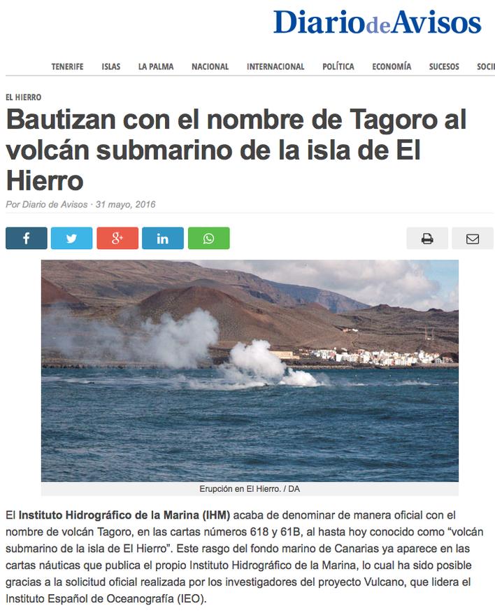Source: Zitat. Diario de Avisos
