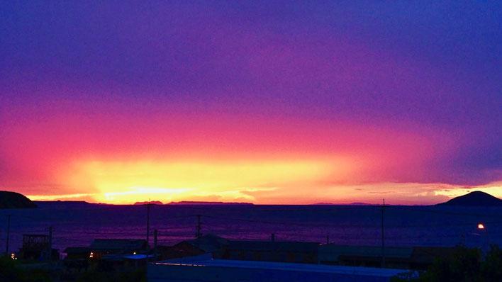 紫の空 Purple Sky