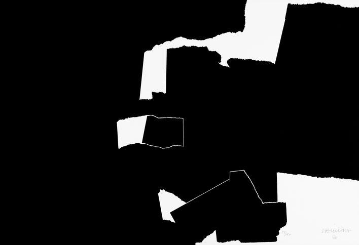 Eduardo Chillida, Les Deux Noirs, Bildhauer, Zeichner, Eduardo Chillida, Spanien, Abstraktion, Zeitgenössische Kunst, Nachkriegskunst, Post War, Kunst, Kaufen