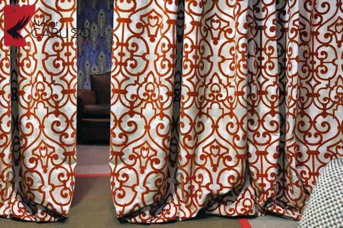 Tendaggi torino atelier tessuti arredamento tende for Tende d arredamento per interni
