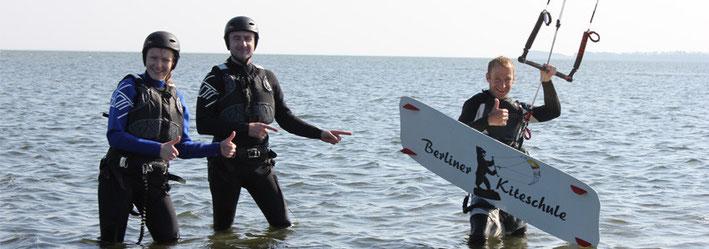 Kitesurfkurs Rügen