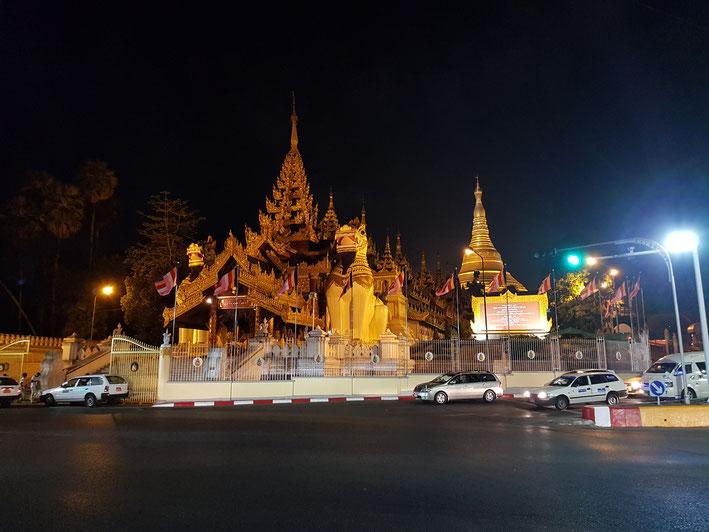 Shwedagon Pagode in Yangong