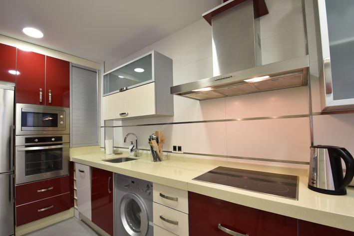 keuken appartement in Valencia