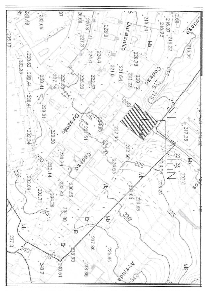 Aufzeichnung Grundstück