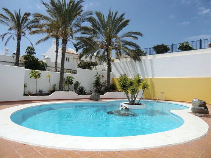 Pool wird mit Sonnenenergie geheizt