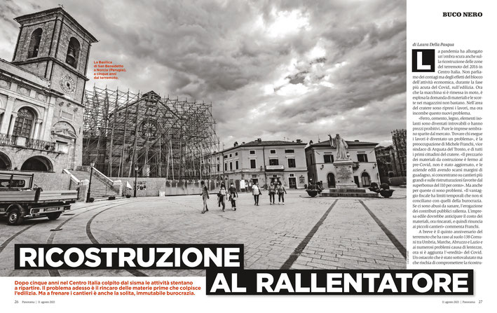 Panorama n.33/2021, Terremoto Centro Italia 5 Anni Dopo. © Luca Cameli Photographer