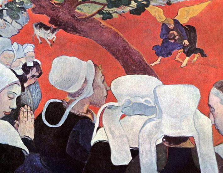 Видение после проповеди - Поль Гоген (1888)