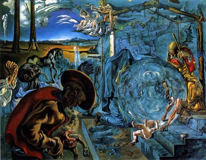 Рождение нового мира - Сальвадор Дали
