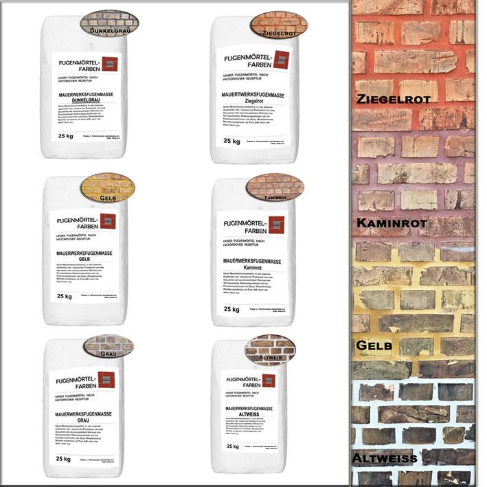 Wenn Mauerwerk mit dem richtigen Fugenmörtel sauber verfugt wird, erhöht man die Widerstandsfähigkeit gegenüber Witterungsschäden, Frostschäden und allgemeiner Alterung.
