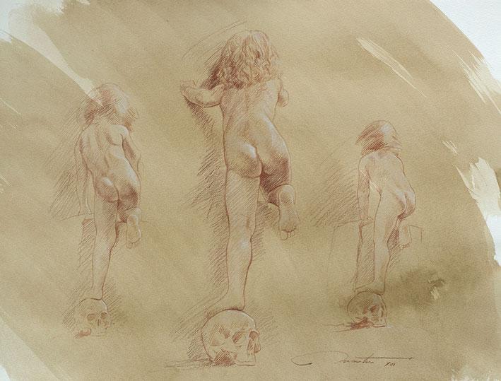 Frédéric Martin, artiste peintre, dessin, anatomie, homme,femme, enfant, peinture contemporaine