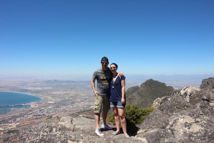 Weltreise Kapstadt Tafelberg Reiseblog Südafrika