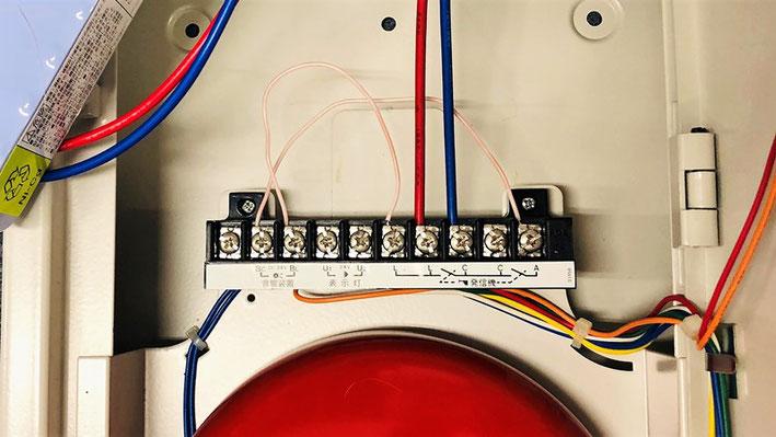 電線 総合盤 接続