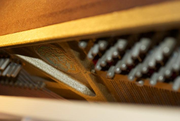 Einblicke in unser Klavier.