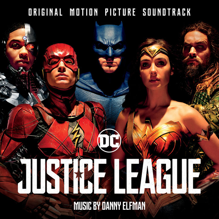 Justice-League Soundtrack - Experience in IMAX - DC-Comics - Warner Bros - SONY Music - kulturmaterial