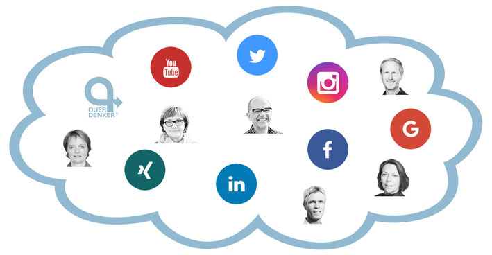 Querdenker, Prozess-Begleitung, Community, Trainer, Social Media, SM, Kompetenznetzwerk-Partner