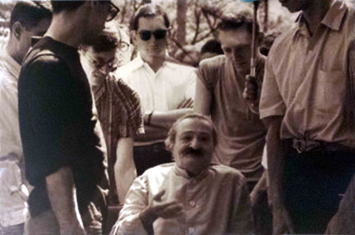 1958 - Henry wearing sunglasses at the Meher Spiritual Centre, Myrtle Beach, SC.