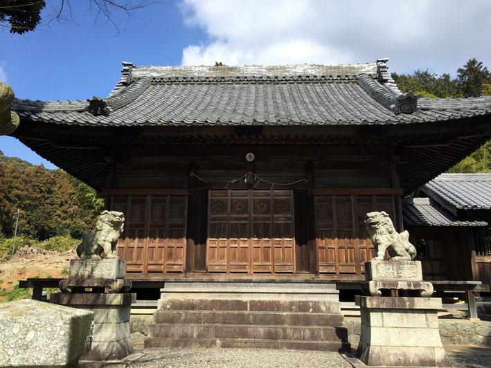 素戔嗚神社(西迫町)
