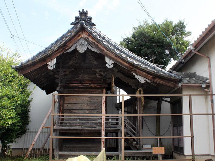 八幡神社 本殿(新井形町)