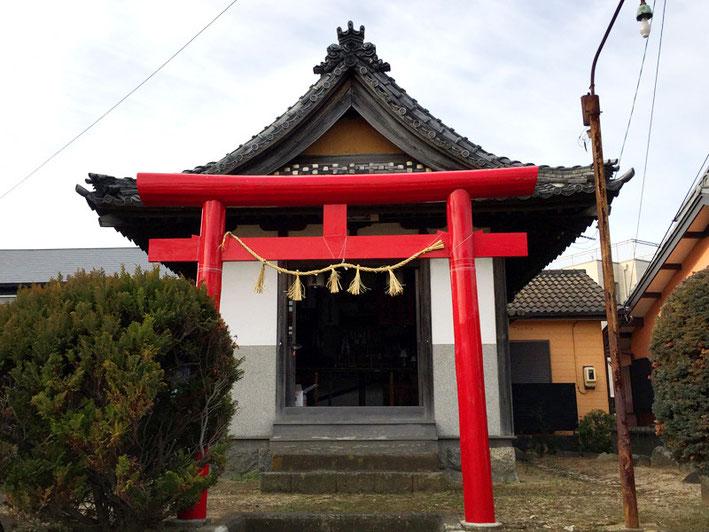稲荷神社(竹島町)