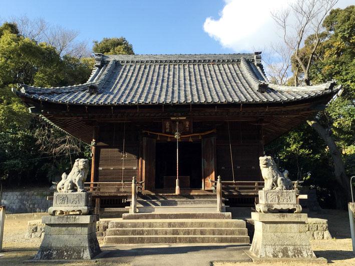 素戔嗚神社(形原町羽栗)