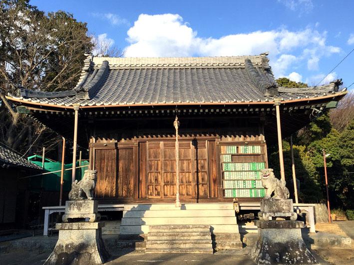 秋葉社(西浦町)