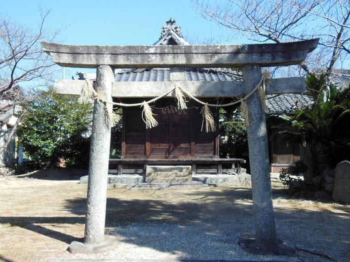 八幡社(竹谷町)