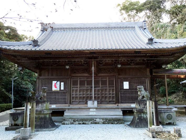 素戔嗚神社(拾石町)
