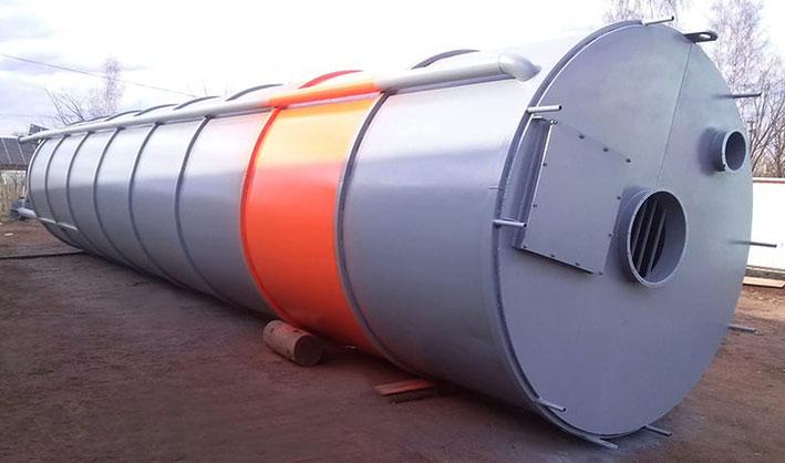 Бункер для цемента