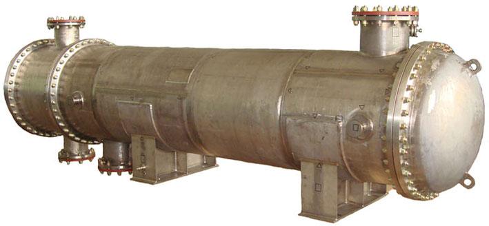 Горизонтальный стальной теплообменник