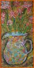 """""""Krug mit Blumen"""" 30 / 60 cm. 2014"""