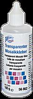 Trasnparetner Kleber für Mosaiksteine