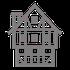 Icon Fachwerkhaus für alte Gebäude