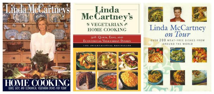 Linda McCartney - drei Kochbücher