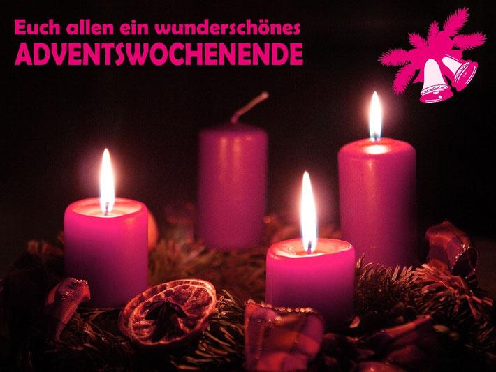 Euch allen ein wunderschönes Adventswochenende