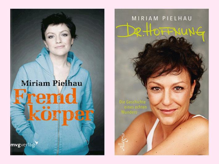 Zwei der Bücher von Miriam Pielhau