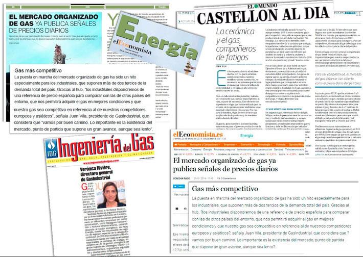 GasINDUSTRIAL en medios, febrero 2016