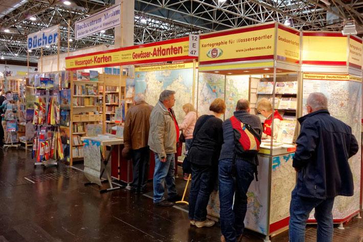 Der Jübermann-Verlag und das Buchzentrum Maritim auf der boot in Düsseldorf