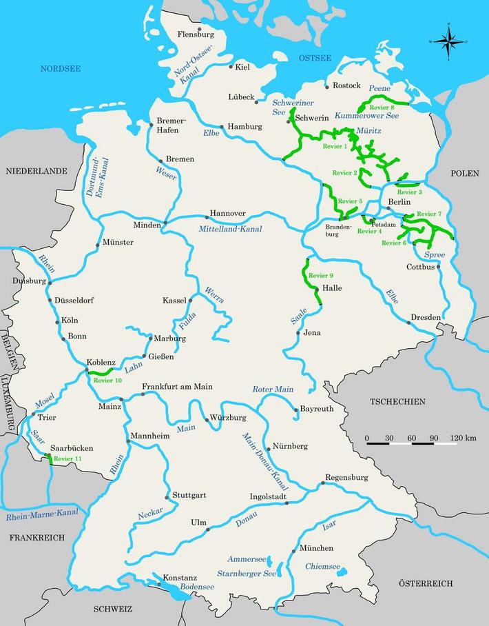 Die Charterscheinregelung In Deutschland Hausboot Smalltalk