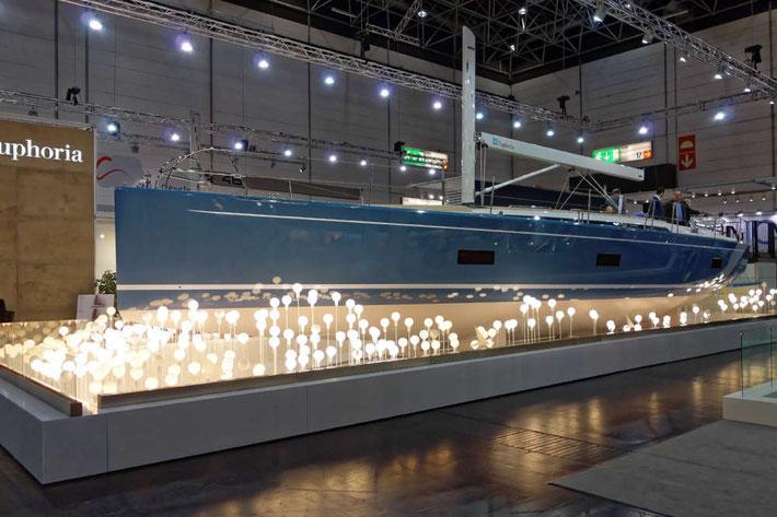 Eine Präsentation auf der boot in Düsseldorf 2016